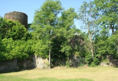 Zbytky hradu Sychrov