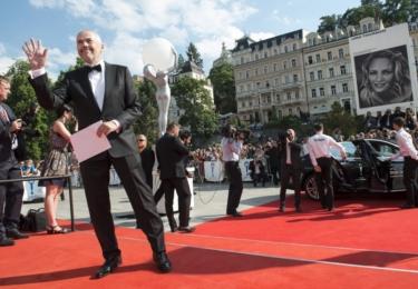 A Marek Eben o pět let později, na loňském MFF Karlovy Vary (foto KVIFF)