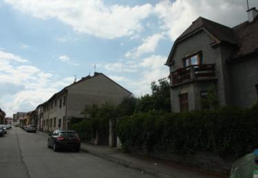 Dům, kde Charvát bydlel v podnájmu