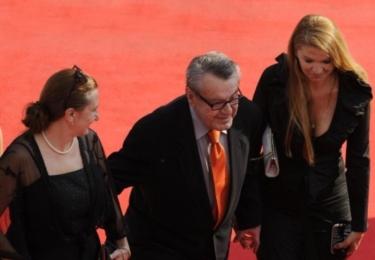 Miloš Forman s Evou Holubovou