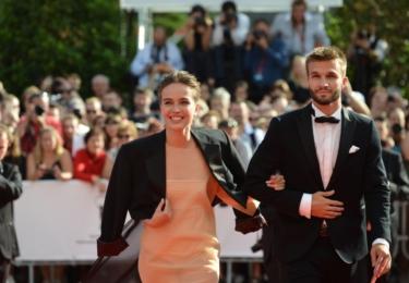 Tereza Voříšková (super sáčko) a tanečník Matyáš Ramba. Ještě že tu StarDance máme, holky by nám jinak zůstaly na ocet; milá ČT, do dalšího ročníku určitě pozvi Kláru Issovou!