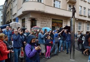 Odhalení pomníku (foto ČRo)