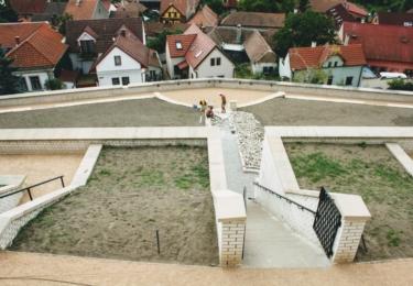 Klášterní park je v rekonstrukci
