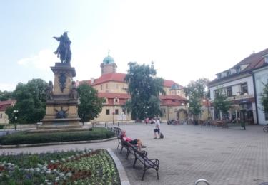 Pomník krále Jiřího v Poděbradech