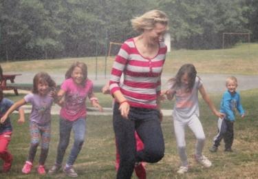 """Tábor nese název """"S dětmi bezpečně"""" a tomu byl přizpůsoben i celkový program"""