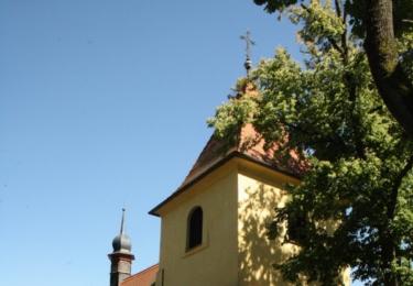 Kostel Povýšení svatého Kříže v rekonstrukci