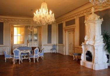 Zrcadlový sál, vhodné i pro pořádání svateb
