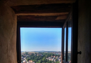 Ladec nad Sázavou pohledem z hradu
