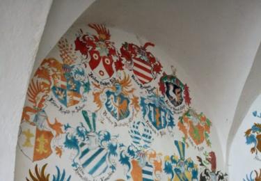 Zámecké interiéry ve Vilémovicích