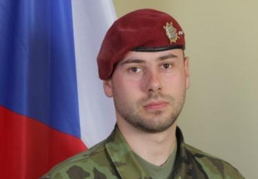 Kamil Beneš, desátník. R.I.P. Ve středu 8. srpna 2018 ve 12.00 zazní sirény na památku padlých vojáků