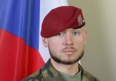 Patrik Štěpánek, desátník. R.I.P. Ve středu 8. srpna 2018 ve 12.00 zazní sirény na památku padlých vojáků