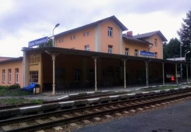Nádraží v České Kamenici