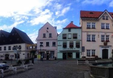 Náměstí v České Kamenici