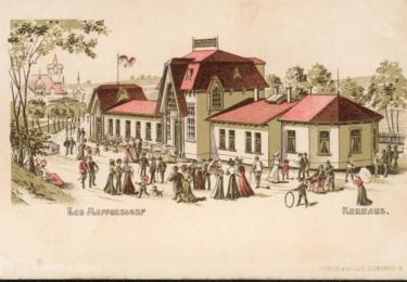 Zlatá éra - repro pohlednice