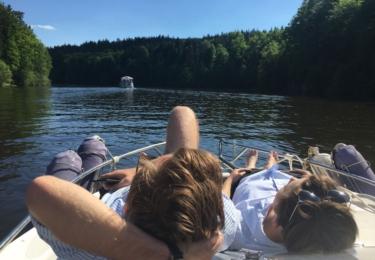 Plavba po Vltavě