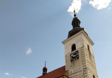 Kostel svatého Vavřince v Prčici
