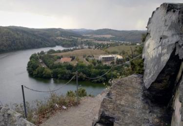 Výhled z Albertových skal / René Flášar