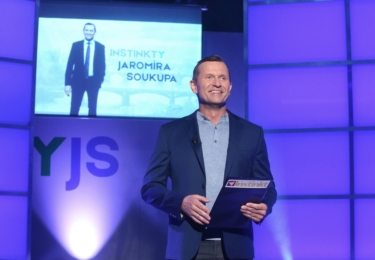 TV Barrandov, to je za prvé až za dvacáté šesté Jaromír Soukup, foto Facebook