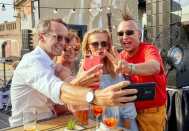 Robert Jaškow je na selfie nových účastníků Tvoje tvář má známý hlas už k nepoznání, foto Facebook