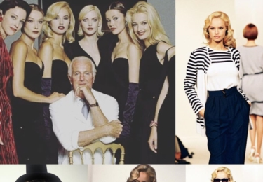 Vzpomínka na Givenchyho a její nejlepší léta supermodelky