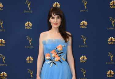 Ceny Emmy se odehrávaly 17. září v Microsoft Theater v Los Angeles, foto www.emmys.com / Facebook. Michelle Dockery, kterou si pamatujeme jako Mary v Panství Downton