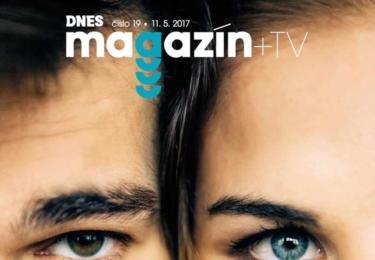 Ester a Jonáš na titulce Magazínu MFDnes