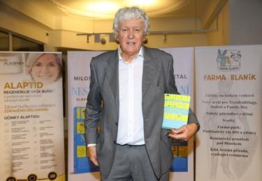 Křest nové knihy Miloše Zapletala: Autor Miloš Zapletal