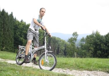 Teď jsem jel na kole