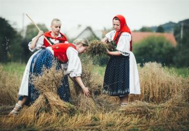 1. místo v kategorii Živé tradice a kulturní akce na Valašsku, Michal Hyžák / Valašské dožínky