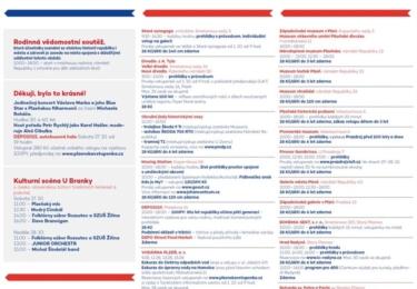 Program Plzeňských oslav vzniku republiky