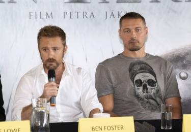 """""""Jsem rád, že jsme se domluvili právě s Benem. Má za sebou sice bohatou hereckou minulost, ale v Americe je to momentálně velká ´rising star´, jedna z nejvybíravějších. Své role pečlivě studuje a Žižka se mu líbil,"""" řekl Jákl."""