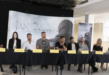 13. září představil Petr Jákl část herců, kteří se objeví v hlavních rolích. Na tiskovce tak byl k vidění hollywoodský herec Ben Foster, německý herec Til Sweiger, či hvězda Letopisů Narnie William Moseley, který si zahraje bratra Jana Žižky.