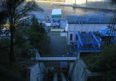 Útroby Slapské přehrady