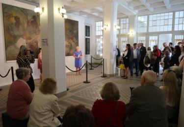 Mostecké muzeum představuje obraz Alfonse Muchy