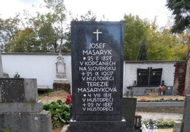 Hrob rodičů T. G. Masaryka