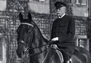 TGM na koni, foto Facebook Národního muzea