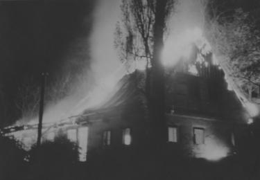 Křišťálová noc na Karlovarsku: HOŘÍCÍ SYNAGOGA V KYNŠPERKU NAD OHŘÍ, Židovské muzeum v Praze