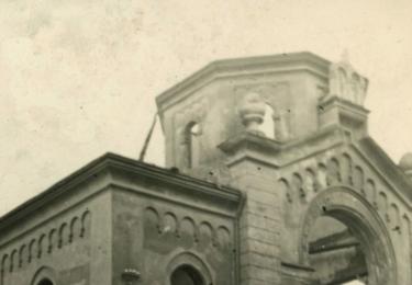 Křišťálová noc na Karlovarsku: VYPÁLENÁ SYNAGOGA V SOKOLOVĚ, Archiv města Sokolov