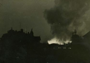 Křišťálová noc na Karlovarsku: VYPÁLENÍ SYNAGOGY V SOKOLOVĚ (FALKNOVĚ) 10. 11. 1938, Archiv města Sokolov