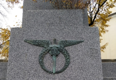 Pomník třem letcům
