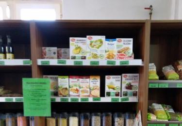 Místní obchod a zdravá strava v něm