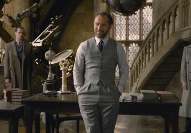 Mladý Albus Brumbál. Fantastická zvířata: Grindelwaldovy zločiny. Foto Warner Bros. Pictures