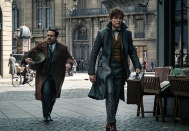 Mlok a Jakob. Fantastická zvířata: Grindelwaldovy zločiny. Foto Warner Bros. Pictures