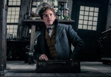 Mlok Scamander. Fantastická zvířata: Grindelwaldovy zločiny. Foto Warner Bros. Pictures