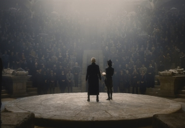 Grindelwald a Vinda. Fantastická zvířata: Grindelwaldovy zločiny. Foto Warner Bros. Pictures