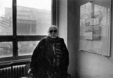 Ester Krumbachová, snímek z facebookové stránky, věnované této úžasné ženě