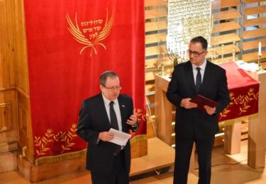Setkání v liberecké synagoze, foto Město Liberec