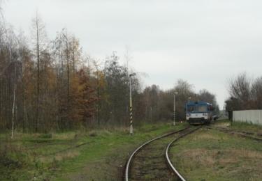 Příjezd vlakem