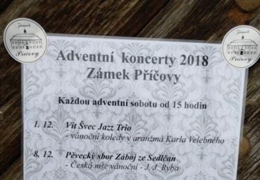 Pozvánka na adventní koncerty
