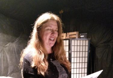 Marta recituje své básně